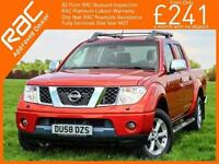 2008 Nissan NAVARA 2.5 DCI Turbo Diesel Avantura Double Cab DC Pickup 6 Speed 4x