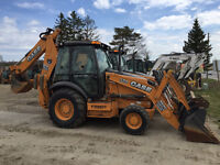 BACKHOE LOADERS & SKID STEERS - SNOW REMOVAL RENTAL CONTRACT!!!