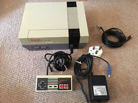 NES Nintendo entertainment system with 11 games-some RARE