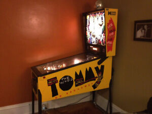 Tommy Pinball Wanted