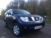 Nissan Pathfinder 2.5 diesel auto cheap tax £295 7seat