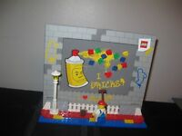 Lego Picture Frame and Grad Decoration