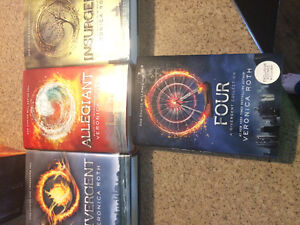 Divergent book series by Veronica roth