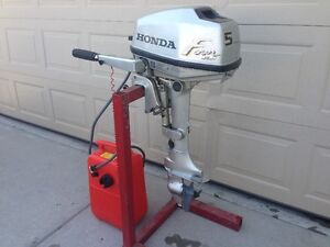 ########### HONDA 5 HP 4-STROKE SHORT SHAFT OUTBOARD ###########
