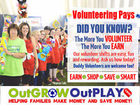 Kitchener OutGROW OutPLAY is now looking for VOLUNTEERS!
