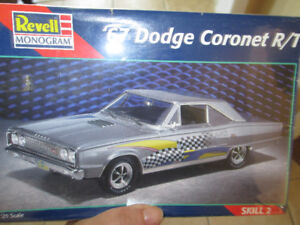NEW REVELL / MONOGRAM~1967 DODGE CORONET R/T MODEL KIT (SEALED)
