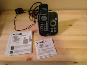 VTECH PORTABLE HOME PHONE WITH ANSWERING MACHINE