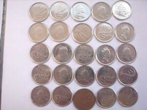 Canadian 10 Cent Coin Collection