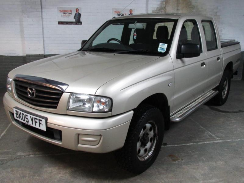 2005 Mazda B2500 B-Series 4X4 DOUBLE CREW CAB TD PICK UP 4WD Mountain Top RANGER