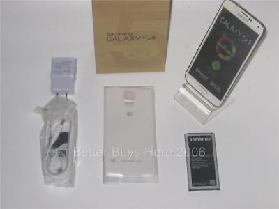 $144.95 - Samsung Galaxy S5 SM-G900 - 16GB - Shimmery White AT&T (Unlocked) Smartphone