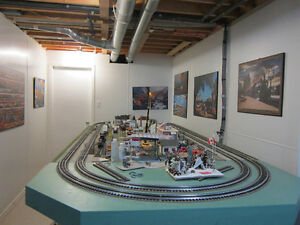 TABLE DE TRAIN (LAYOUT)