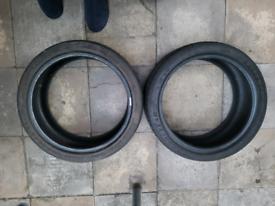 Goodyear Eagle F1 225 40 18 Asymmetric 2 Part Worn Tyres R18 x2 Pair