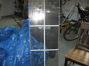 glass insert for door