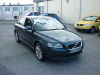 2008 Volvo S40 2.0D SE Lux Full leather Finance Available Drive Away today!