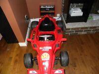 formula 1 battery operated car