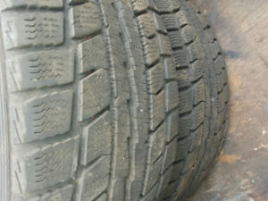 2 pneus hiver 205 55 16 winter tire