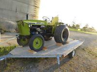 Diesel Tractor & 48 inch mower