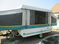 1994 Fleetwood Coleman Destiny Tent Trailer