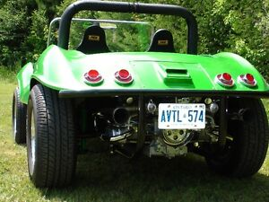 1966 VW beetle with Irwin Sportster Dunebuggy body. Street Legal