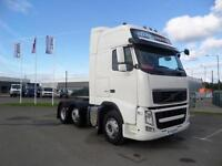 2 X 2011(61) VOLVO FH13-460 6X2 GLOBETROTTER XL TRACTOR UNITS