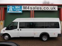 Ford Transit 135ps, 17st Minibus,Tacho,PSV