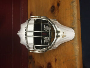 CCM Goalie Mask with Chrome Cage (Reduced Price)