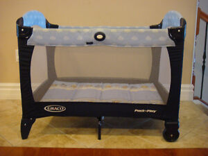 Used Graco - Pack 'n Play Playard, Winnie the Pooh and Friends