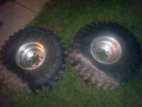 25/13/9 tires honda rims