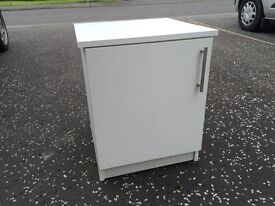 White storage box or bedside cabinet