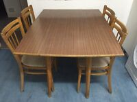 Free - Butterfly dining table and chairs