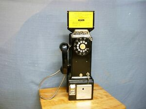 NORTHERN ELECTRIC PAY PHONE FROM THE 1960's