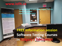 ONLINE - real-time testing training from Institute of IT Calgary
