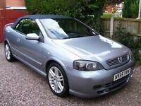 Vauxhall/Opel Astra 1.8 convertible 2005 Exclusive superb cond call 07790524049