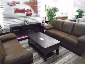 SOFA AND LOVE SEAT $139.99/MONTH