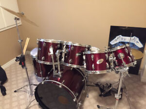 Ludwig Accent Combo 7-Piece Drum Set
