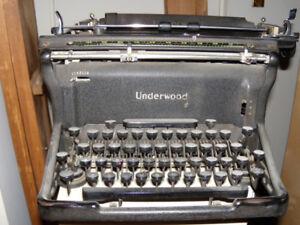 Underwood Standard Typewriter