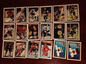 For Sale: Topps 1991-92 Hockey Cards (Lot of 106 Cards) Sarnia Sarnia Area image 3