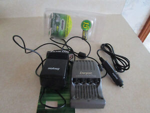 Energizer Battery Charger for house & car!