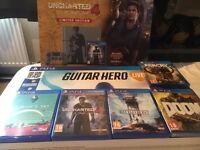 Ps4 Limited edition and Games