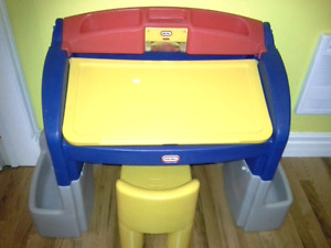 Little Tikes Art Table, RedRider HobbyHorse, Spiderman Bed SPCA