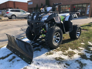 X-MAS  SALE ! New ATV with Plow -$2400 - Call 905.856.3212
