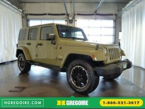 2013 Jeep Wrangler Unlimited SAHARA CUIR NAVI BLUETOOTH SIEGES C