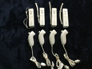 Wii motes with nunchucks