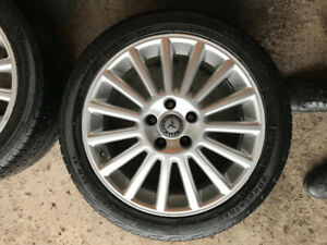 Mercedes 17 inch sports mags+ tires