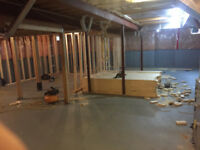 HANDYMAN ! ... Framing / Drywall / Basement Reno's ...
