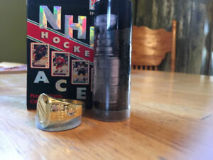 NHL Ring & deck cards