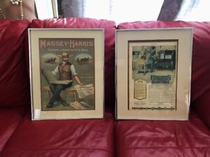 4 ANTIQUE ADVERTISEMENT SIGNS PROFESSIONAL FRAMED NEW PRICE