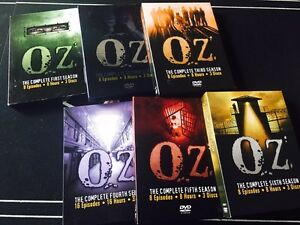 Complete HBO series Oz , all 6 seasons