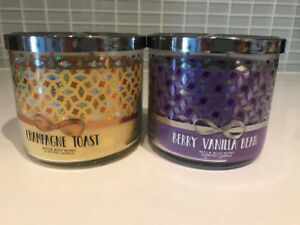 2 bath and body work candles