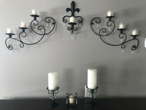 Partylite sconces kijiji in alberta buy sell save with partylite wall sconce and candle holder set mozeypictures Images